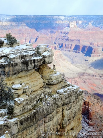 Grand Canyon in winter 2