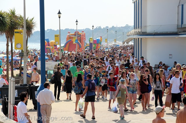 Bournemouth in summer