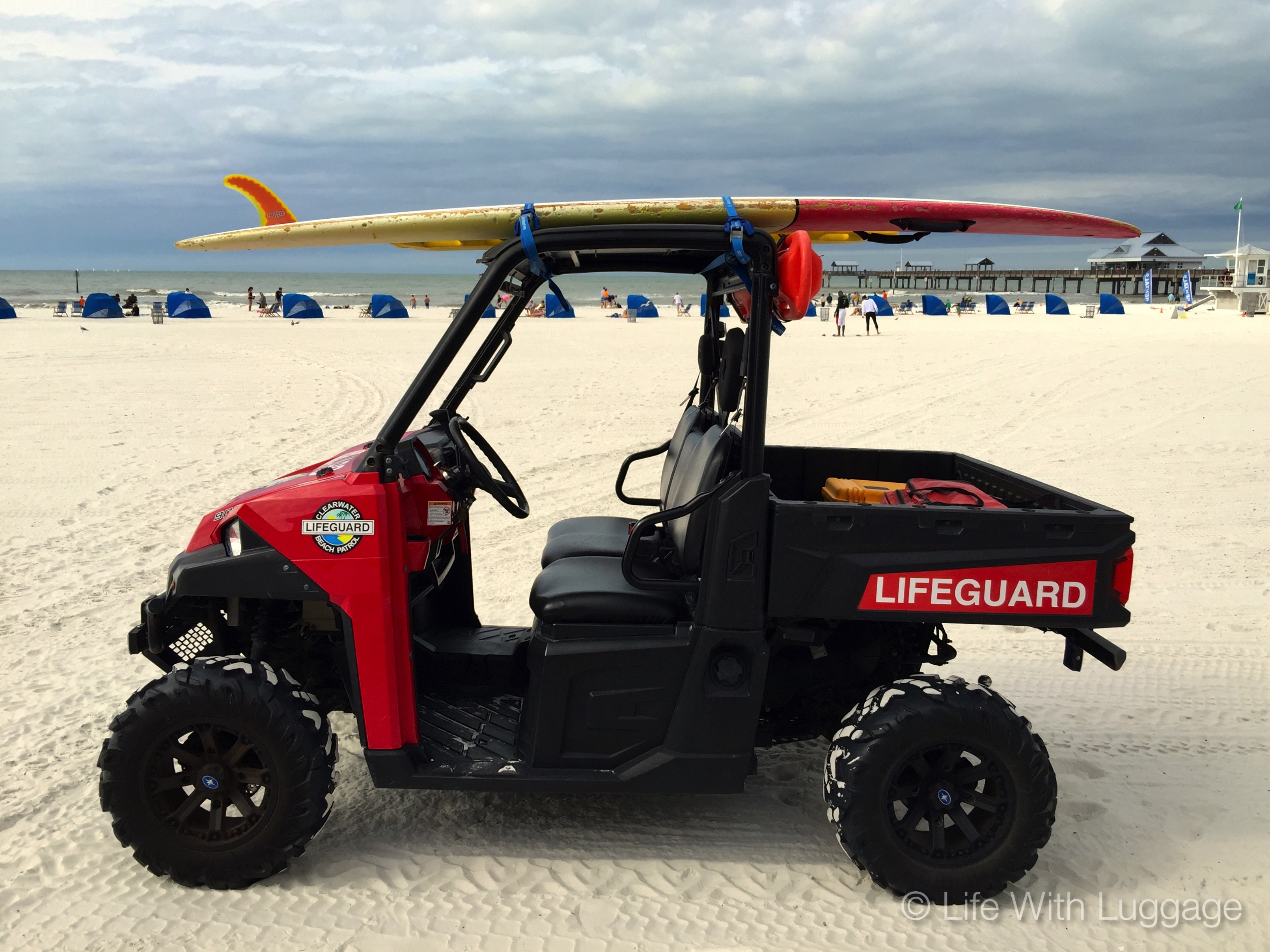 Surfboard lifeguard Florida